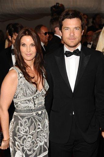 Amanda Anka and Jason Bateman at the 2011 Met Ball