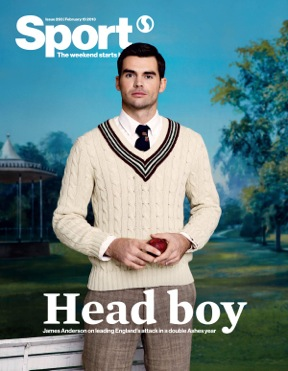 Sport Magazine james Anderson
